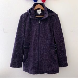 Croft & Barrow Large blue jacket zipper hoodie